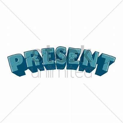 Word Present Stockunlimited Graphic English