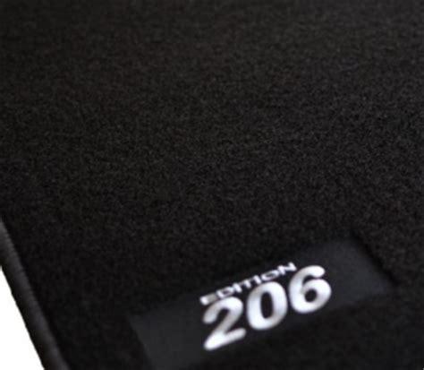 jeu de tapis peugeot 206 ou 206 cc 4 pieces gamme