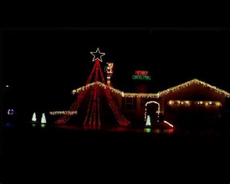 christmas lights animated to let it snow using light o