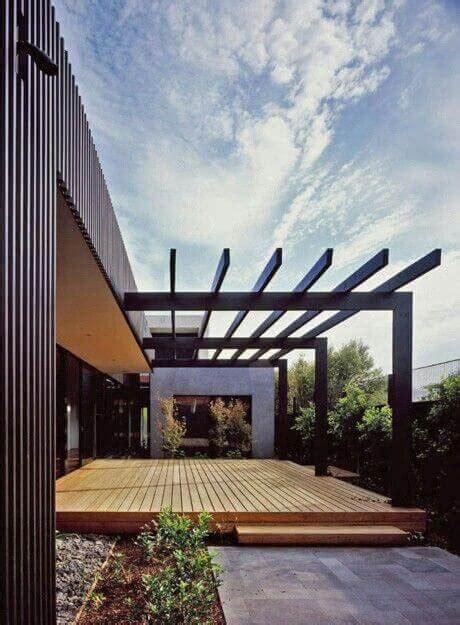 creative metal frame pergola designs