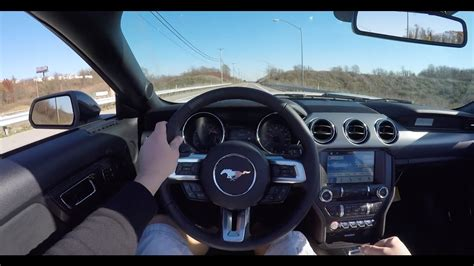 driving   ford mustang gt california special