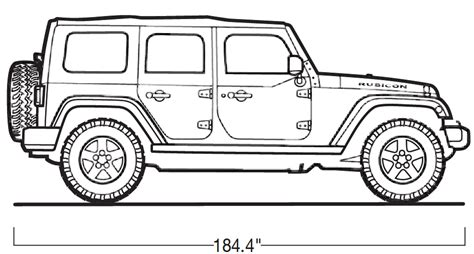The Gallery For Gt Jeep Wrangler Drawing