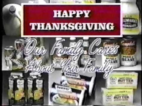 Juicy bacon does double duty in this thanksgiving showstopper by keeping the lean turkey. Stop n' Shop Thanksgiving Commercial, Cavaliers, WOIO - YouTube