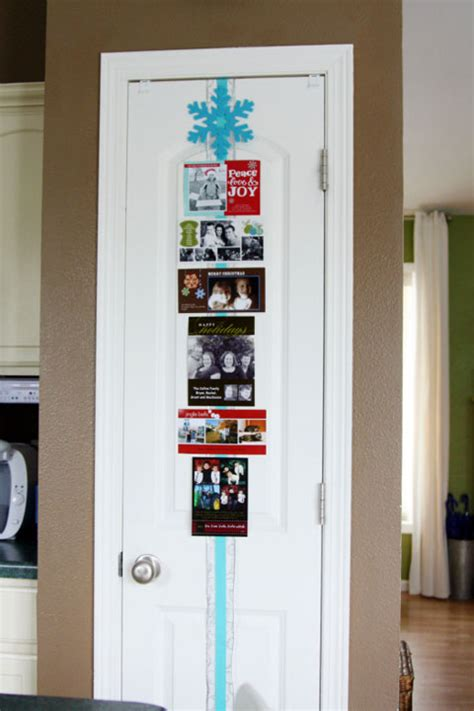 how to display cards at home holiday cards display ideas close to home
