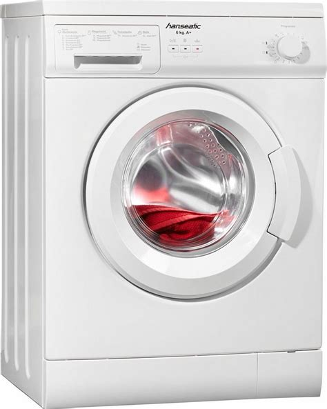 exquisit waschmaschine 6 kg hanseatic waschmaschine hwm610a1 a 6 kg 1000 u min kaufen otto