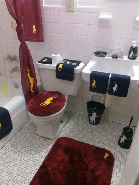 polo bathroom set   bathroom