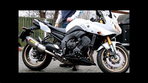 akrapovic on Yamaha FZ8-Fazer - YouTube