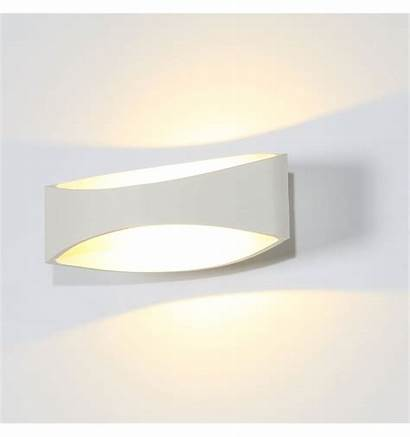 Led Applique Murale Alyson Moderne Blanc Wandlamp