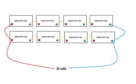 cablage electrique cuisine conseils brancher des batteries 6 volts en série et