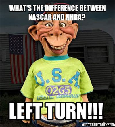 What Is An Meme - what s the difference between nascar and nhra