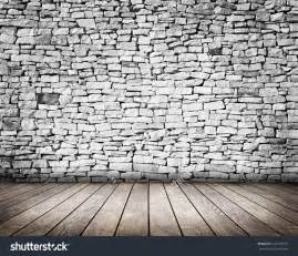 dimensional room with a brick wall and wood floor stock photo loversiq