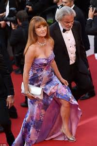 Karpet Max Ruse seymour defies time at the cannes festival