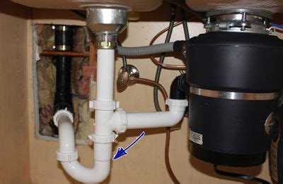 kitchen sink drain setup how to install a kitchen sink drain