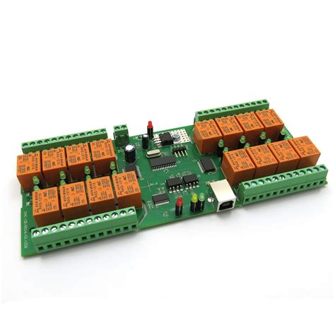 Usb Channel Relay Module Board For Home Automation Ebay