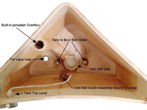 eljer toilet eljer triangle series toilet repair parts