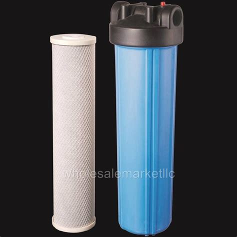 cto 20 inch 20 inch big blue whole house water filter purifier w cto