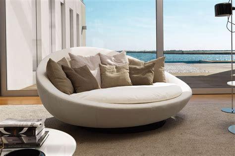 canapé demi lune lacoon island sofa desiree tomassini arredamenti