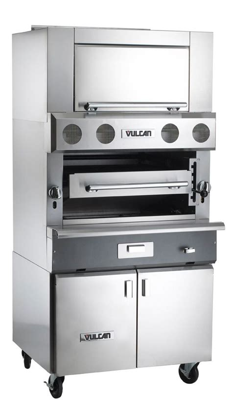 36 cooktop base cabinet vulcan vbb1bf gas broiler w cabinet base finishing oven 36 quot