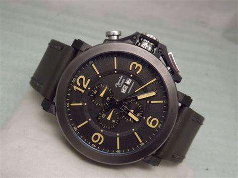 jam tangan pria cowok guess tanggal hari kulit 2 alexandre christie 6281mc original jam tangan ac collection