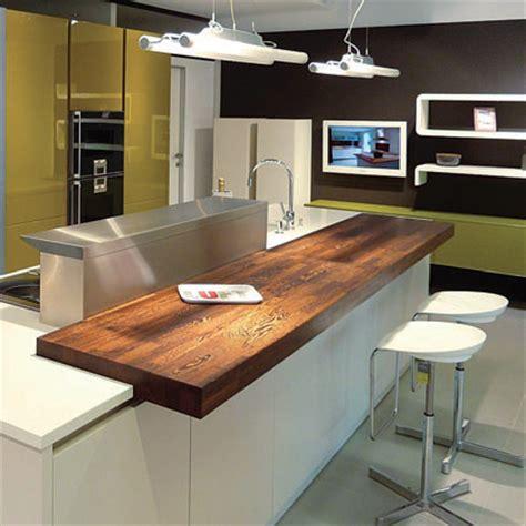 plan de travail cuisine bois massif ilôts flip design boisflip design bois