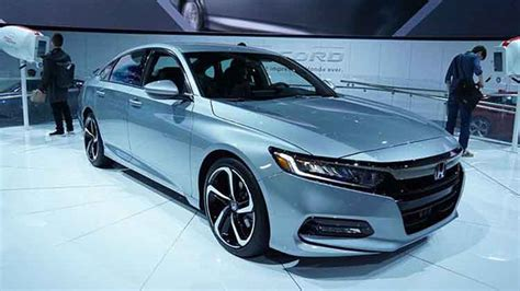 2019 Honda Accord Sport 20 And 15 Engines  2017 Honda News