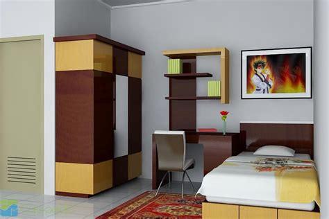 desain kamar kost modern multi fungsi desain