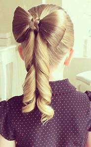 How to Make the Perfect Hair Bow | Bow ponytail, Ponytail ...