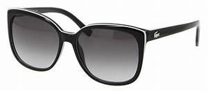 Lunette De Soleil Femme Solde : lunettes de soleil lacoste l 747s 004 57 16 femme noire carr e cercl e tendance 57mmx16mm 110 ~ Farleysfitness.com Idées de Décoration
