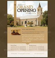 Grand Opening Church Flyer