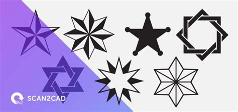Stars Free Dxf Files