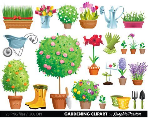 Garden Clipart Gardening Clipart Garden Tool Clipart Tool And