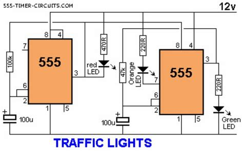 Traffic Light Electronics Project With Timer