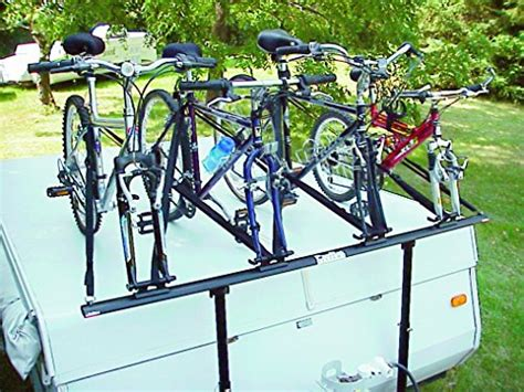tent trailer bike rack pro rac systems inc tent trailer 4 bike carrier