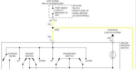 Pontiac Montana Power Window Wiring Diagram by 2006 Pontiac Montana No Power Windows Locks Rear Wiper B