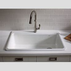 K58711a2  Riverby Topmount Kitchen Sink With