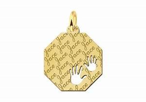 Kettenanhänger Selbst Gestalten : eckiger kettenanh nger aus gold mit gravierten namen und h ndchen ~ Orissabook.com Haus und Dekorationen