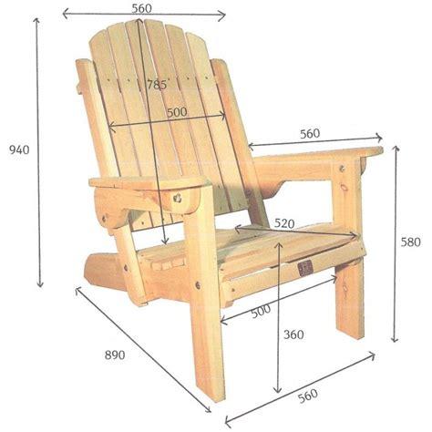 plan de chaise en bois plan chaise de jardin en bois lzzy co