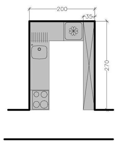 am駭ager une cuisine en l plan de cuisine en l 8 exemples pour optimiser l 39 espace côté maison