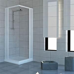 Duschkabine Aus Kunststoff : duschkabine mit zwei verschlie baren t ren und 90 grad winkel hergestellt aus ungiftigem ~ Indierocktalk.com Haus und Dekorationen