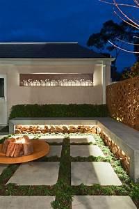 Indirekte Beleuchtung Leisten : indirekte beleuchtung terrasse led leisten beton sitzbank home green gartengestaltung ~ Watch28wear.com Haus und Dekorationen