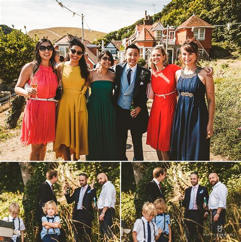 Lulworth Cove wedding photography Dorset Louise+Q Paul