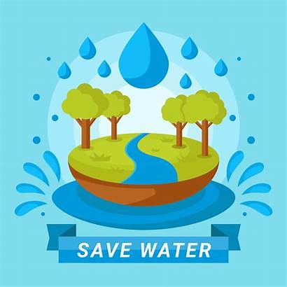 Water Save Vector Poster Clipart Resources Vecteezy