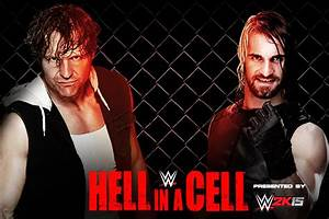 WWE Hell in a Cell 2014: Dean Ambrose vs. Seth Rollins ...