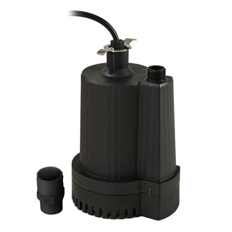 superior pump 1 3 hp submersible thermoplastic utility