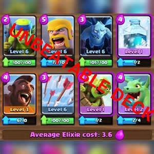 Royale 4 Arena Clash Good Decks