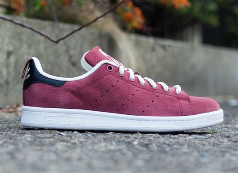 Adidas Stan Smith Suede Rust Red White Sneakersactus