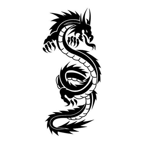 beautiful tribal dragon tattoo  tribal