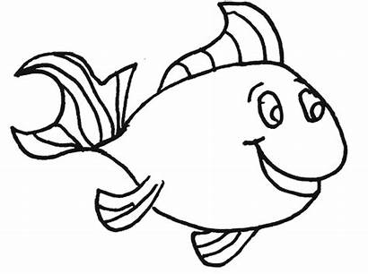 Fish Clip Clipart Coloring Pages Clipartpanda Terms