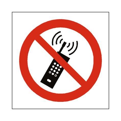 No Mobile Phone Symbol Sign