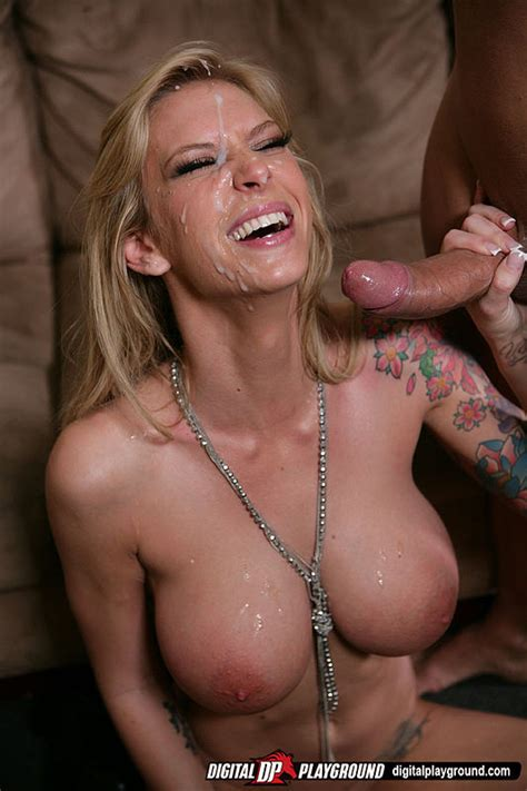 Brooke Banner Exposes Tattoos And Big Tits During Wild Sex